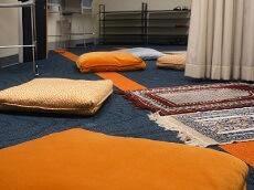 Muslim Prayer Space at Hendrick Chapel