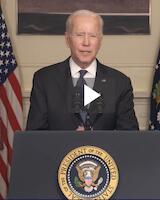 President Biden speaking to Class of 2021 graduates