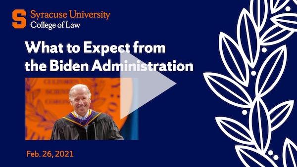 Biden Administration Opening Video Slide