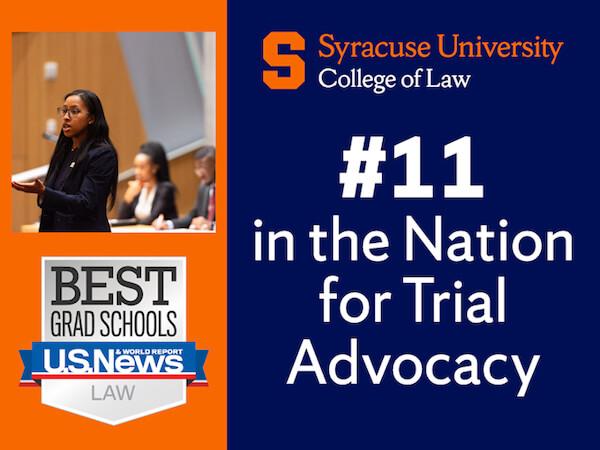 Law Advocacy Program Ranking #11