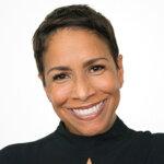 Photo of Angela Turner wearing black blouse