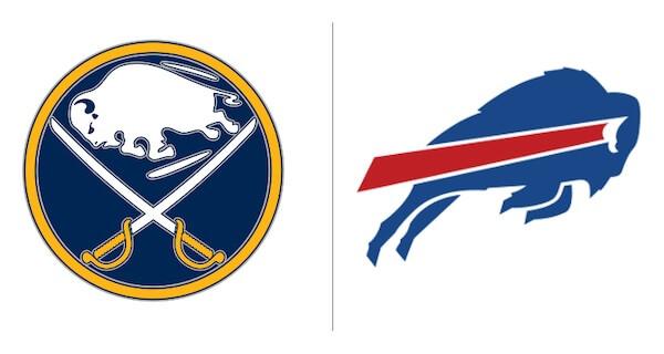 Bills and Sabres Logos
